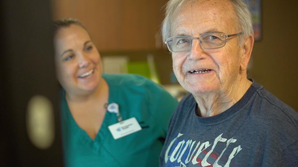 Pete Thompson Middletown, Delaware Patient