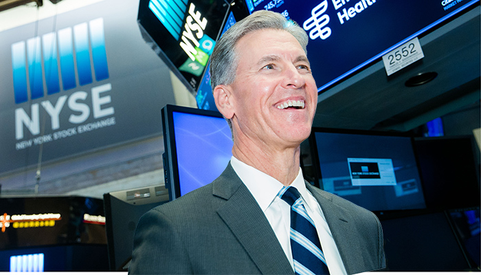 Encompass Health Corporation (NYSE:EHC) visits the New York Stock Exchange (NYSE) to highlight their rebrand and name change from HealthSouth. To mark the occasion President & CEO, Mark Tarr, rings The Closing Bell®.