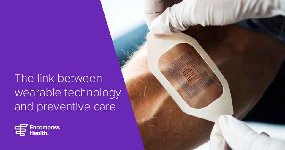 The link between wearable technology and preventative care