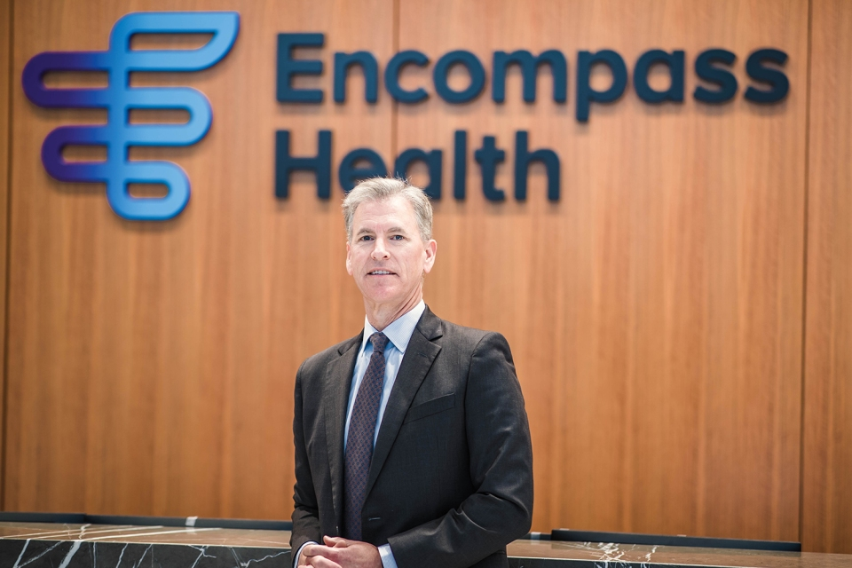 Mark Tarr, Encompass Health president and CEO