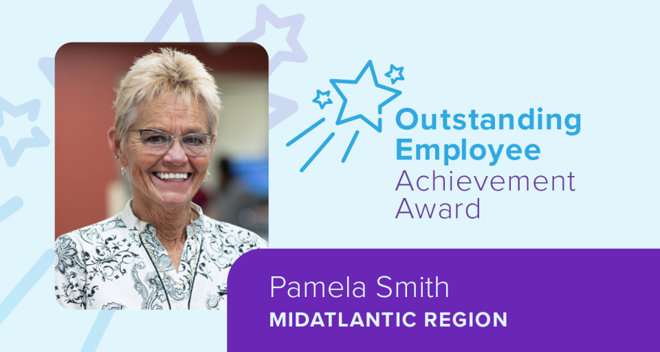 OEAA MidAtlantic winner Pam Smith