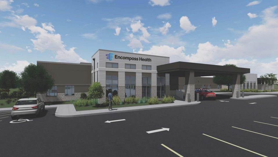 Cape Coral Florida hospital rendering