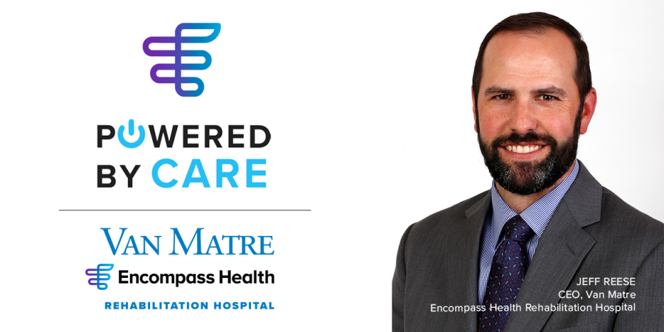 Encompass Health Van Matre Rehabilitation Hospital CEO Jeff Reese uses communication to navigate employee engagement during the COVID-19 crisis.