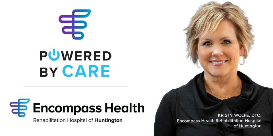 Kristy Wolfe, MA, CCC-SLP, Encompass Health Huntington