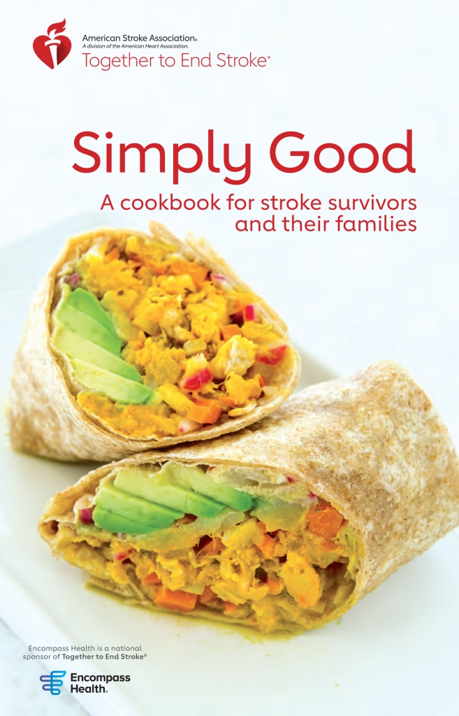 Simply Good: A cookbook for stroke survivors and their families