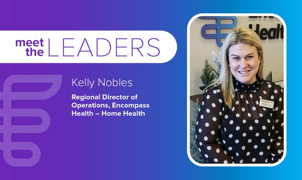 Meet the leaders: Kelly Nobles