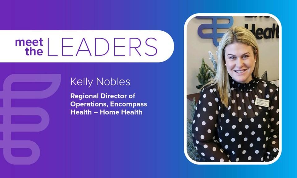 Meet the leaders: Kelly Nobles
