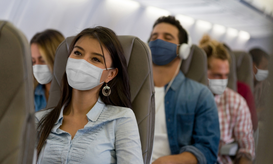 mask wearing mandates in place in travel